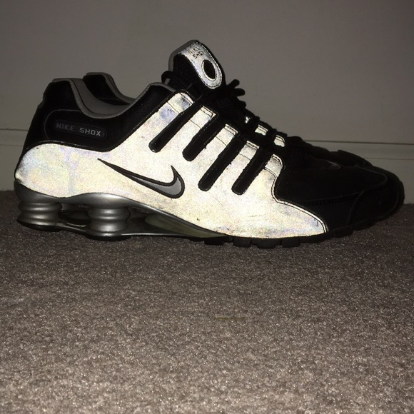 check out f8bb5 4648f Nike Shox Black  Reflective. M 5b50d93c25457acd16d5e8c4. Other Shoes you  may like. Nike Air Max ...